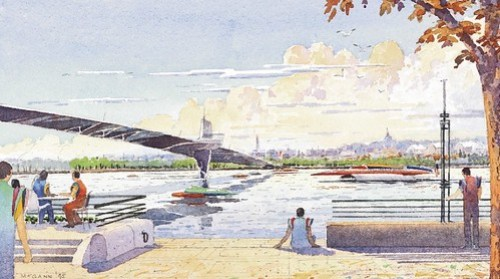 Proposed South Capitol Street Bridge