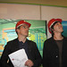 John Barrowman and Dr. Brian Cox at CERN
