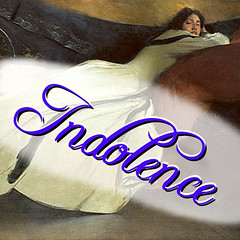 Indolence Logo, take one