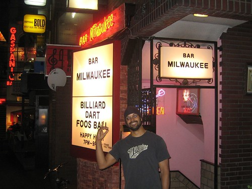 miltownkid at the Milwaukee Bar in Roppongi , Tokyo by miltownkid.