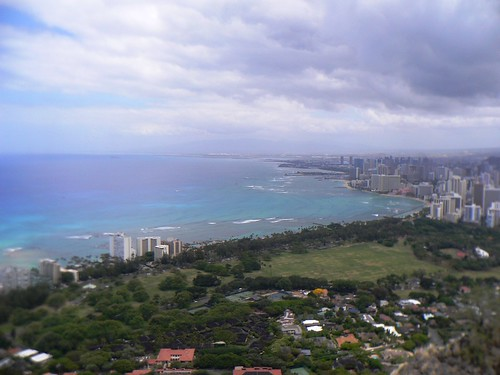 Honolulu From The Top Of Diamond Head