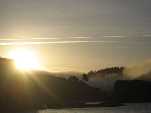 the headlands at dawn