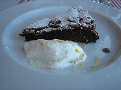 Hostal Empúries_Brownie de chocolate