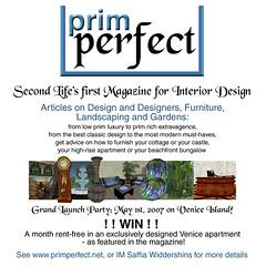 Prim Perfect Magazine photo