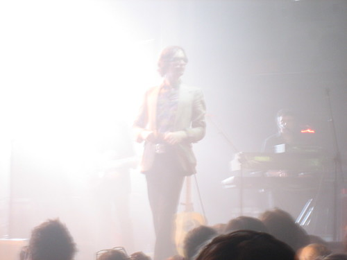 jarvis stands in bright light