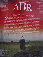 Australian Book Review (ABR) magazine