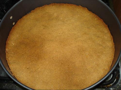 Cheesecake base