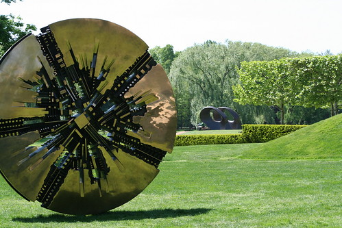 Grande Disco, Arnaldo Pomodoro, Purchase, NY