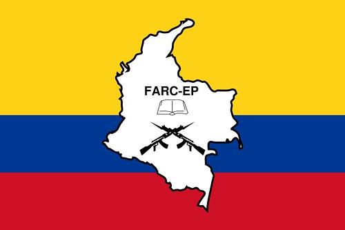 Bandera de las FARC