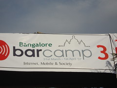 barcampbangalore banner