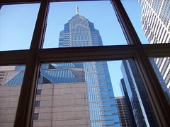 Philadelphia Hotel Window View