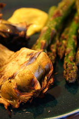 Grilled veggies with aioli