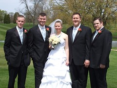 Bride and Best Men