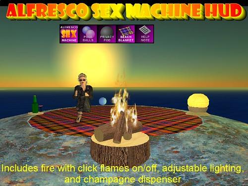 Alfresco Sex Machine Extras3