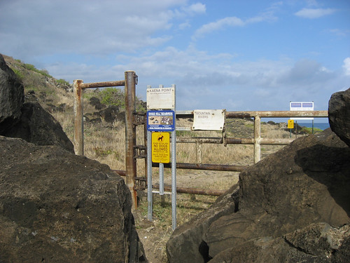 Keana Point gate