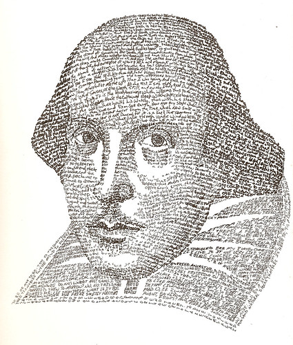 William Shakespeare -- Text Portrait