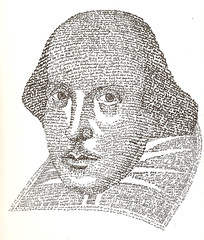 William Shakespeare - Text Portrait