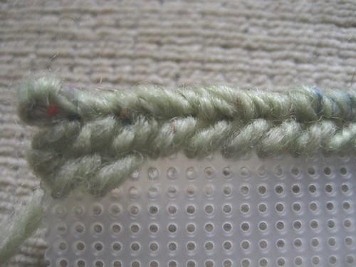 Weaving up close