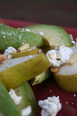 Pear & avocado salad 2