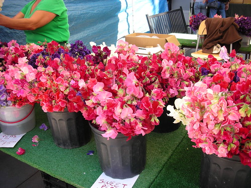 Sweet Peas at the Market