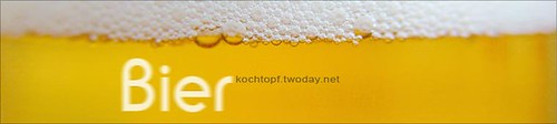 Blog-Event XXIV - Bier