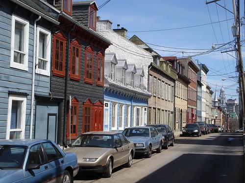 Quebec City Streetscape