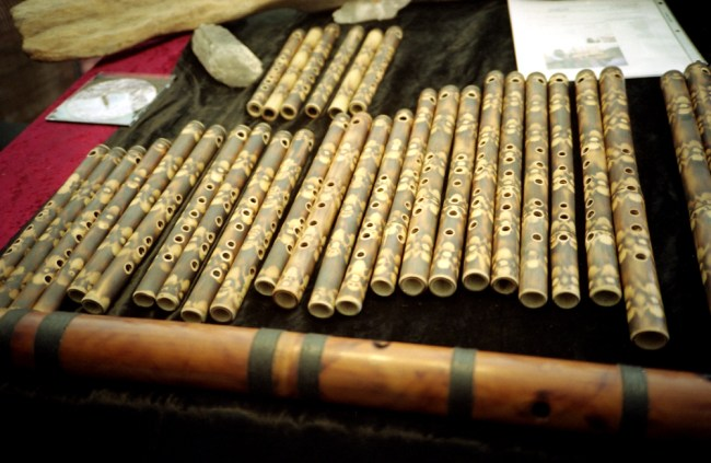 His flutes