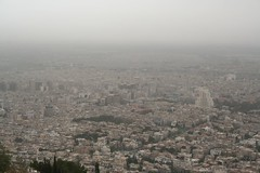 Damascus Panorama, Looking Southwards