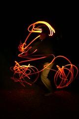 Light Mike on Bike