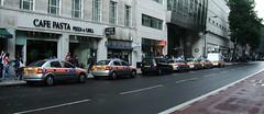 Police cars on High Holborn