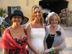 Bride and women