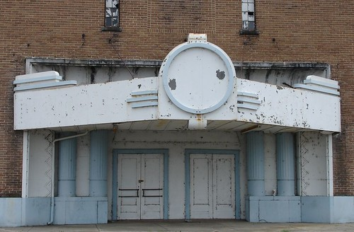Old Theater in Leland, MS