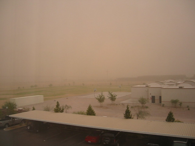Dust Storm Here