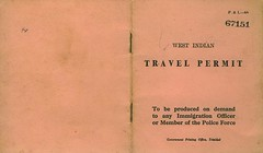 West Indian Travel Permit (outside)