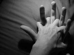 Hold me..