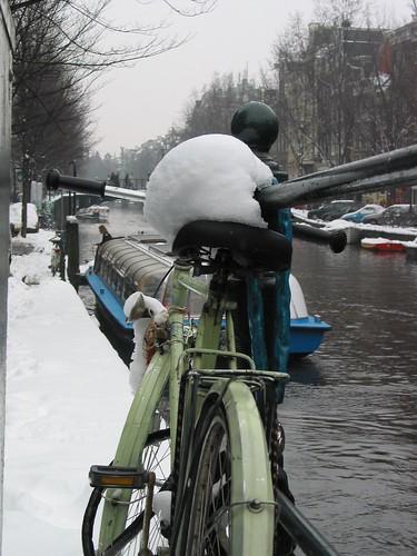 Amsterdam y la nieve