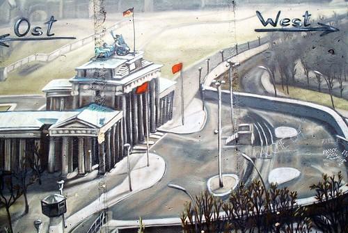 Berlin Wall 9 by skyanth.