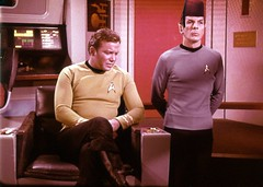 "Kirk Talks to Spock about his ""Fez Addict..."