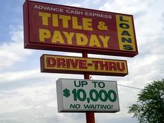 Drive Thru Loans