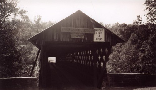Horton Mill Covered Bridge Entry, Blount County AL
