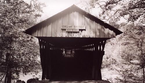 Swann Covered Bridge Entrance, Blount County AL