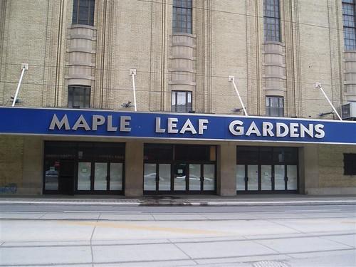 Maple Leaf Gardens New Name  Toronto Mikes Blog