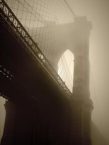 Bridge in Fog by gaspi *your guide