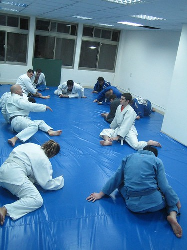Class Time at Taiwan BJJ