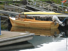 Thomas and Hege got a new boat