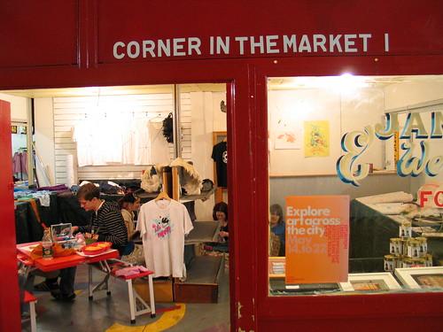 Corner in the market I