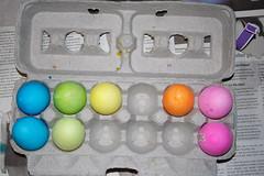 a few eggs short...