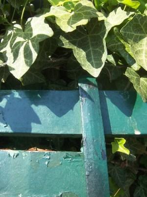tuinbankje