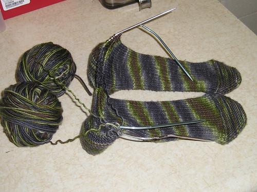 Inside Out Socks 05/04/07