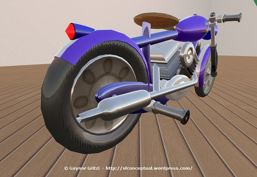 Lowrider Motorcycle 008